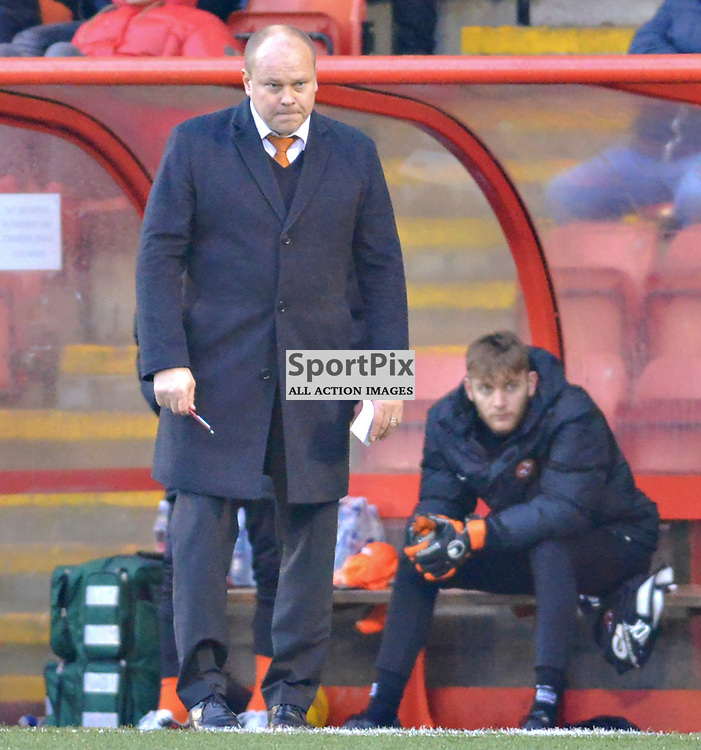 United Manager Mixu Paatelainen looks on intensely as his troops play Airdrie in the Cup......(c) BILLY WHITE | SportPix.org.uk