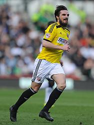 Jonathan Douglas Brentford, Derby County v Brentford, Sy Bet Championship, IPro Stadium, Saturday 11th April 2015. Score 1-1,  (Bent 92) (Pritchard 28)<br /> Att 30,050