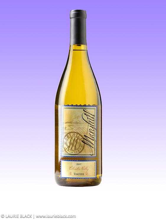 Wine bottle portrait