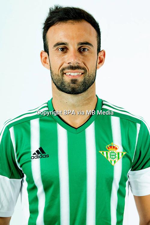Spain - Liga BBVA 2015-2016 / <br /> ( Real Betis Balompie ) - <br /> Francisco Molinero Calderon