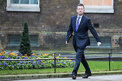 © Licensed to London News Pictures. 10/01/2017. London, UK. Attorney General Jeremy Wright arrives on Downing Street ahead of the weekly Cabinet meeting. Photo credit: Rob Pinney/LNP