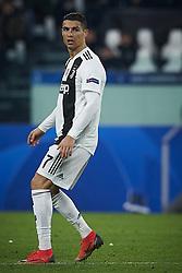 November 27, 2018 - Turin, Italy - Cristiano Ronaldo of Juventus reacts during the UEFA Champions League match between Juventus and Valencia CF at Allianz Juventus Stadium  in Turin, Italy on November 27, 2018  (Credit Image: © Jose Breton/NurPhoto via ZUMA Press)