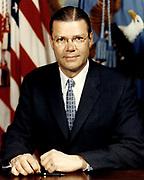 Robert McNamara (1916 – 2009)American Secretary of Defense, under Presidents John F. Kennedy and Lyndon B. Johnson from 1961 to 1968.  President of the World Bank from 1968 until 1981.