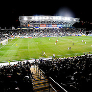 The view of PPL Park as the LA Galaxy take on the home side the Philadelphia Union. October 8, 2010.