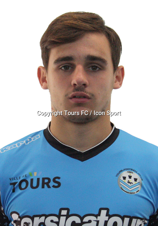 Baptiste Etcheverria during the during photoshooting of Tours FC for new season 2017/2018 on October 5, 2017 in Tours, France<br /> Photo : Tours FC / Icon Sport