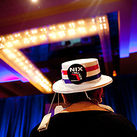 ORLANDO, FL -- September 22, 2011 -- Kay Afonso of Plam Coast, Fla., listens in during the Florida P5 Faith and Freedom Coalition Kick-Off at the Rosen Centre Hotel in Orlando, Fla., on Thursday, September 22, 2011.  Nine Republican presidential candidates congregated for a Fox News / Google Debate.   (Chip Litherland for The New York Times)