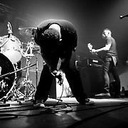 Viva Hate performs at the Rainbow Ballroom in Fresno, California USA on January 27, 2010.