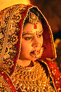 Bride at Wedding,Bharatpur,Rajasthan,India,Asia