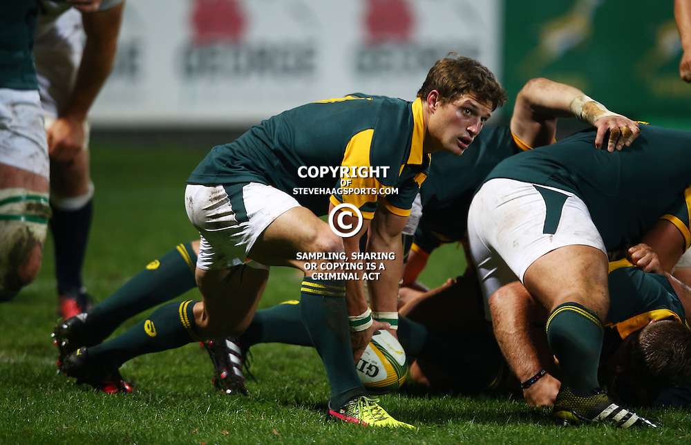 "George, SOUTH AFRICA, 17,June, 2016 - Piet van Zyl of South Africa A during the South Africa ""A"" v England Saxons - 2nd match,Outeniqua Park in George,Southern Cape  South Africa (Photo by Steve Haag) - Images for Getty Images  - England Saxons."