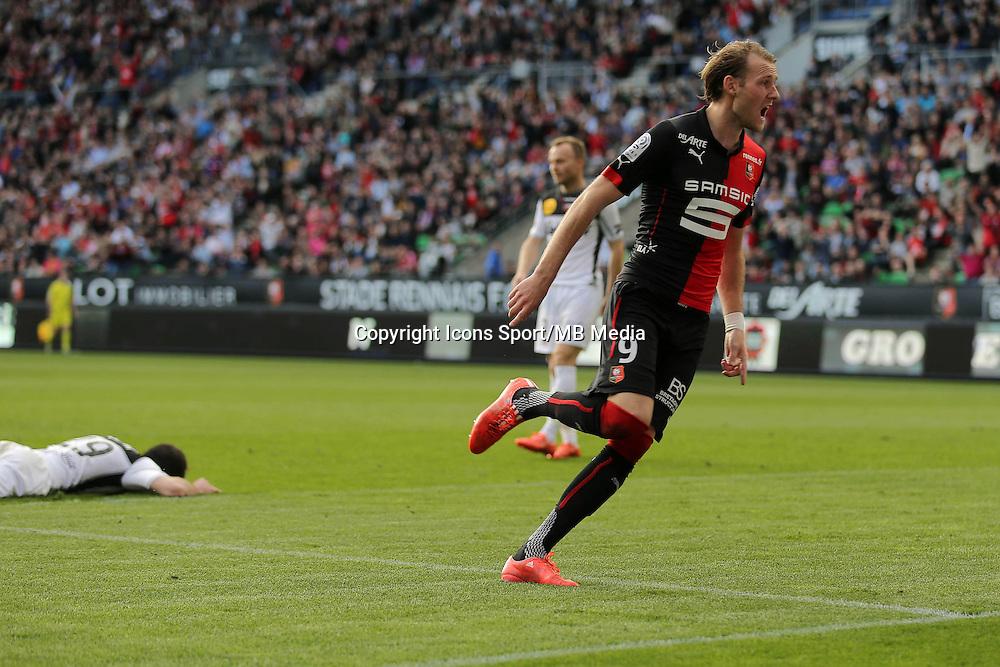 JOIE Ola TOIVONEN - 12.04.2015 - Rennes / Guingamp - 32eme journee de Ligue 1 <br />Photo : Vincent Michel / Icon Sport