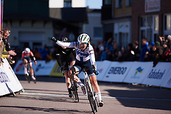 Lotta Lepistö (FIN) wins Healthy Ageing Tour 2019 - Stage 1, a 102.5 km road race starting and finishing in Borkum, Germany on April 10, 2019. Photo by Sean Robinson/velofocus.com