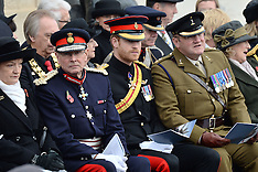 London The Duke Of Edinburgh And Prince Harry Visit The Field Of Remembrance - 10 Nov 2016