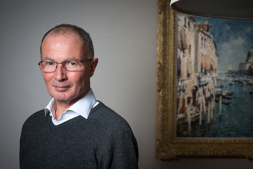 Michael Farmer, the London-based hedge fund manager and Conservative Party co-treasurer, photographed in his Red Kite Capital Management office in the City of London. Dubbed 'Mr Copper' he is one of Britain's richest men.