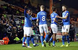 Siriki Dembele of Peterborough United celebrates scoring his goal - Mandatory by-line: Joe Dent/JMP - 23/10/2019 - FOOTBALL - Weston Homes Stadium - Peterborough, England - Peterborough United v Accrington Stanley - Sky Bet League One