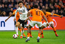 24-03-2019 NED: UEFA Euro 2020 qualification Netherlands - Germany, Amsterdam<br /> Netherlands lost the match 3-2 in the last minute / Leroy Sane #19 of Germany, Georginio Wijnaldum #8 of The Netherlands