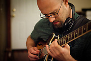 Brent Kimbrough & Company Quartet record original compositions at Uptown Recording in Chicago, IL on June 25, 2013.