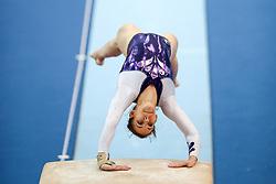Tjasa Kysselef of Slovenia at Vault during Qualifications of Artistic Gymnastics FIG World Challenge Koper 2018, on May 31, 2017 in Arena Bonifika, Koper, Slovenia. Photo by Matic Klansek Velej/ Sportida