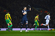 Francisco Casilla of Leeds United (33) holds the ball in his hands during the EFL Sky Bet Championship match between Leeds United and West Bromwich Albion at Elland Road, Leeds, England on 1 March 2019.
