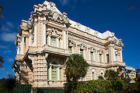Mexique, Etat de Yucatan, Merida, capitale du Yucatan, Paseo de Montejo, maison bourgeoise // Mexico, Yucatan state, Merida, the capital of Yucatan, Paseo de Montejo, burgess house