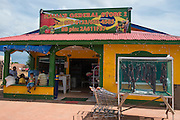 General Store<br /> Lethem Town<br /> Savanna <br /> Rupununi<br /> GUYANA<br /> South America<br /> Dried meat (Tasso)