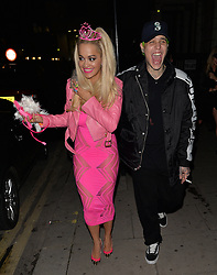 Ricky Hilfiger and Rita Ora attend 'Death Of A Geisha' halloween party hosted by Fran Cutler and Cafe KaiZen in London, UK. 31/10/2014<br />BYLINE MUST READ : GOTCHAIMAGES.COM<br /><br />Copyright by © Gotcha Images Ltd. All rights reserved.<br />Usage of this image is conditional upon the acceptance <br />of Gotcha Images Ltd, terms and conditions available at<br />www.gotchaimages.com