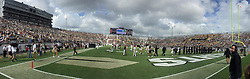 November 11, 2017 - Orlando, FL, USA - The stadium is nearly full during the UConn at UCF football game on Saturday, Nov. 11, 2017 at Spectrum Stadium in Orlando, Fla. UCF won the game 49-24. (Credit Image: © Stephen M. Dowell/TNS via ZUMA Wire)