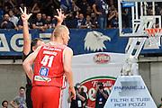 Zavackas Donatas<br /> Red October Cantu' - Consultinvest Pesaro<br /> LegaBasket 2016/2017<br /> Desio 13/10/2016<br /> Foto Ciamillo-Castoria
