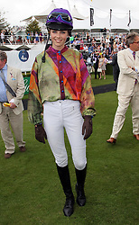 Edie Campbell takes part in a ladies race at  Ladies Day at Glorious Goodwood, Thursday, 2nd August 2012 Photo by: Stephen Lock / i-Images