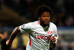 September 13, 2017 - Maribor, Slovenia, Slovenia - MARIBOR, SLOVENIA - SEPTEMBER 13:Luiz Adriano  of Spartak Moskva during the UEFA Champions League Group E match between NK Maribor and Spartak Moskva at Stadion Ljudski Vrt adio on September 13, 2017 in Maribor, Slovenia. (Credit Image: © Damjan Zibert/NurPhoto via ZUMA Press)