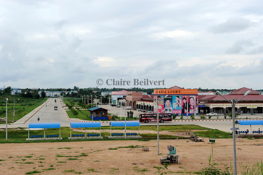 The center of Naypyidaw city, the new capital of Myanmar. It costed more than 3 billions dollars.