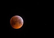 Super blood wolf moon, 21st January 2019