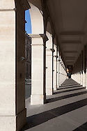 France. Paris. 1st district. , the arches of the rue de Rivoli / sous les arcades de la rue de Rivoli