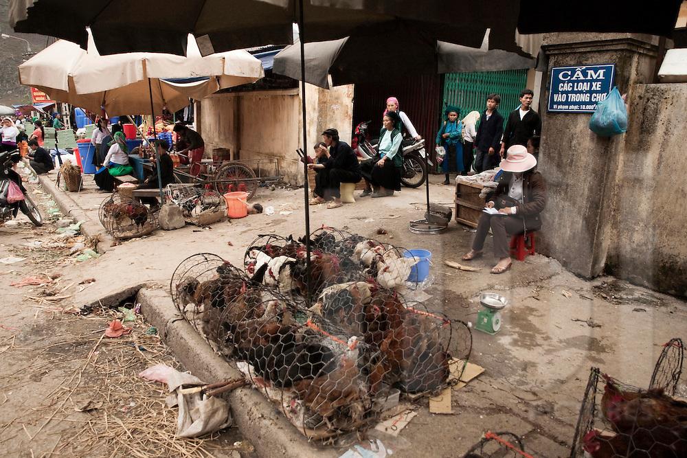 Market of Meo Vac, Vietnam, Asia