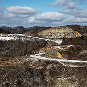 Poplar Gap Park sits at the top of a former strip mining site and was opened in 2001. Grundy, the county seat of Buchanan County, in the heart of Appalachia and coal country, is the most pro-Trump county in America.