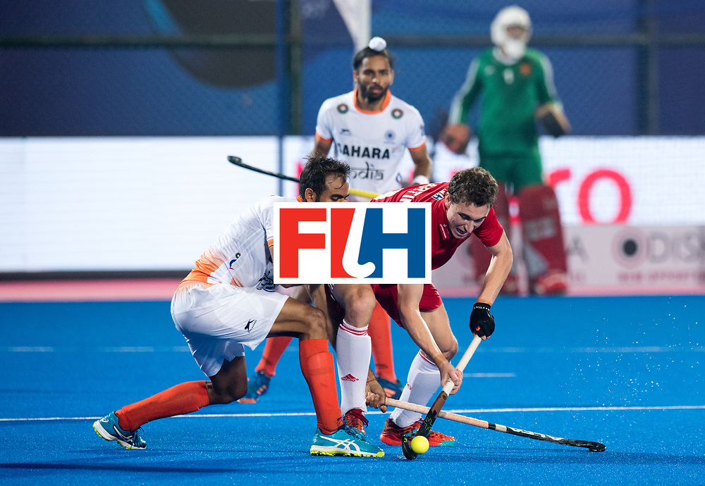 Odisha Men's Hockey World League Final Bhubaneswar 2017<br /> Match id:05<br /> 06 IND v ENG (Pool B)<br /> Foto: Harry Martin (Eng) <br /> WORLDSPORTPICS COPYRIGHT FRANK UIJLENBROEK