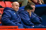 Accrington Stanley Manager John Coleman during the EFL Sky Bet League 1 match between Charlton Athletic and Accrington Stanley at The Valley, London, England on 19 January 2019.