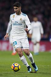November 18, 2017 - Madrid, Madrid, Spain - Marco Asensio during the match between Atletico de Madrid and Real Madrid, week 12 of La Liga at Wanda Metropolitano stadium, Madrid, SPAIN - 18th November of 2017. (Credit Image: © Jose Breton/NurPhoto via ZUMA Press)