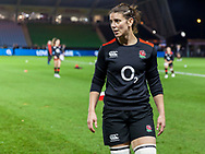 Sarah Hunter during warm up, England Women v Canada in an Autumn International match at The Stoop, Twickenham, London, England, on 21st November 2017 Final score 49-12
