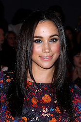 Meghan Markle appears in the front row at Tracy Reese during the MBFW Spring/Summer 2014 presentations at Lincoln Center in New York City, NY, USA on September 8, 2013. Photo by Donna Ward/ABACAPRESS.COM  | 413421_008 New York City Etats-Unis United States