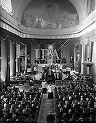 Special for Daily Express - Pontifical Requiem Mass for Late Pius XII at the Pro Cathedral, Dublin<br /> 16/10/1958