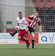 Argyle's Ian MacLean in action - Dundee Argyle v Dykehead AFC in the Scottish Sunday Trophy semi final at Excelsior Stadium, Airdrie, Photo: David Young<br /> <br />  - © David Young - www.davidyoungphoto.co.uk - email: davidyoungphoto@gmail.com