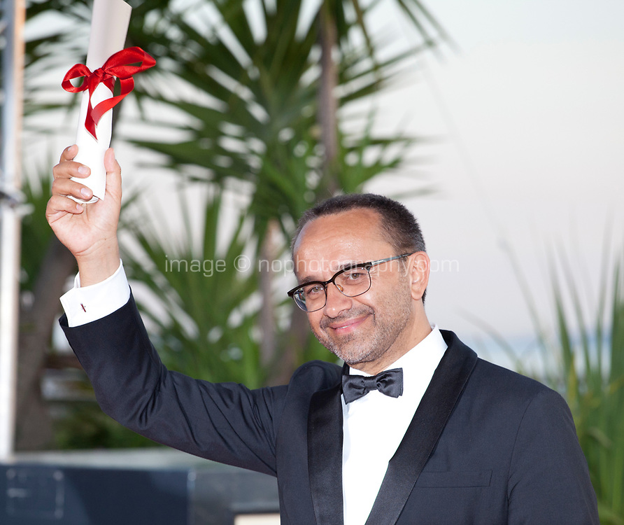 Andrey Zvyagintsev,  wins the Prix Du Jury for the film Loveless (Nelyubov), attending the Winner's Photocall at the 70th Cannes Film Festival Saturday 27th May 2017, Cannes, France. Photo credit: Doreen Kennedy
