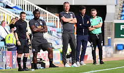 Peterborough United Manager Darren Ferguson watches on alongside Rochdale manager Brian Barry-Murphy - Mandatory by-line: Joe Dent/JMP - 14/09/2019 - FOOTBALL - Weston Homes Stadium - Peterborough, England - Peterborough United v Rochdale - Sky Bet League One