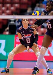 18-05-2016 JAP: OKT Peru - Italie, Tokio<br /> Italië verslaat Peru met 3-0 / Alessia Gennari #8 of Italie