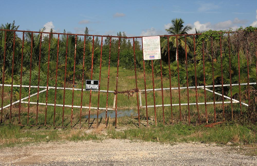 No Tresspassing, Palm Tree Farm, Homestead, FL