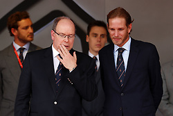 May 26, 2019 - Monte Carlo, Monaco - Motorsports: FIA Formula One World Championship 2019, Grand Prix of Monaco, ..Prince Albert II of Monaco, Andrrea Casiraghi  (Credit Image: © Hoch Zwei via ZUMA Wire)