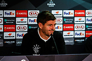 Rangers Manager Steven Gerrard  arrives at the Rangers Press Conference at Ibrox, Glasgow, Scotland on 3 October 2018. Picture by Colin Poultney.