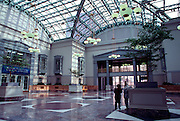 CHICAGO, LOOP ARCHITECTURE Harold Washington Library rooftop Winter Garden and Atrium designed by Hammond, Beeby and Babka c. 1991