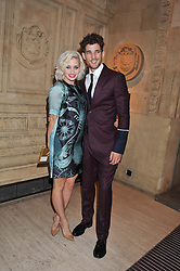 KIMBERLY WYATT and MAX ROGERS at Cirque du Soleil's VIP night of Kooza held at the Royal Albert Hall, London on 8th January 2013.