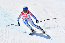 BATHUM Mark B3 USA Guide: YAMAMOTO Cade competing in ParaSkiAlpin, Para Alpine Skiing, Super G at PyeongChang2018 Winter Paralympic Games, South Korea.